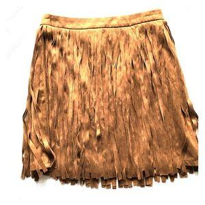 BB Dakota Fringe Miniskirt